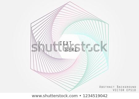Absztrakt színes könyv ikon hullám oktatás Stock fotó © Elmiko