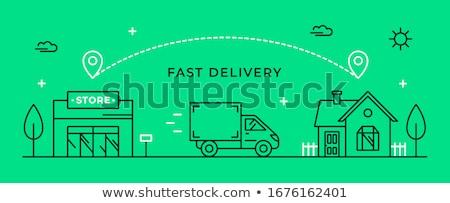 cargo homes Stock photo © Hofmeester