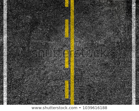 Geel gestreept weg zwarte asfalt snelweg Stockfoto © stevanovicigor