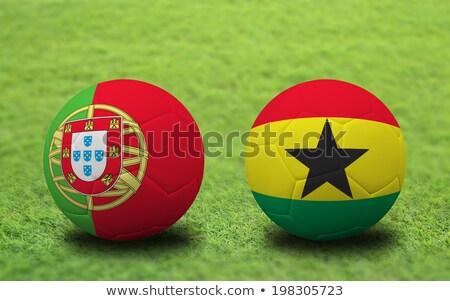 Portugal vs Ghana groep fase wedstrijd Stockfoto © smocker03