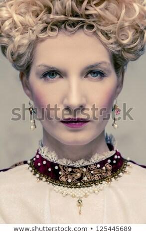 rainha · real · vestir · poder · roupa · estilo - foto stock © nejron