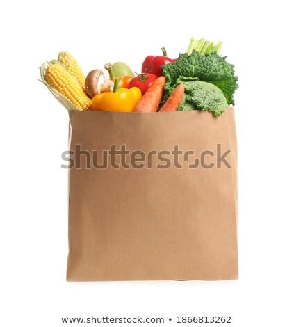Bio vegetal cenoura fresco refeição nutrição Foto stock © M-studio