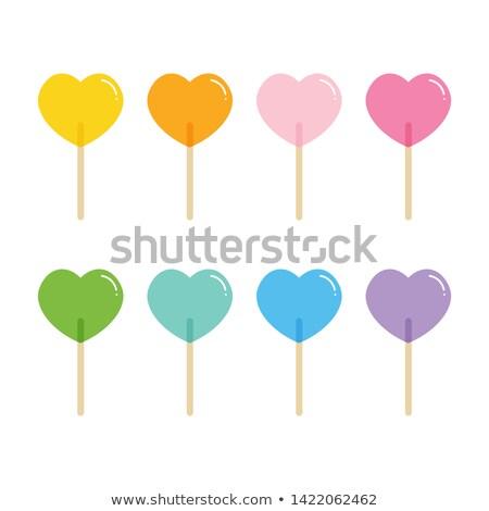 san · valentino · etichette · cuore · diverso - foto d'archivio © enlife