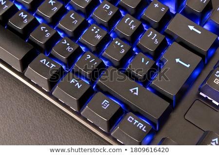 クローズアップ · コンピュータ · ノートパソコンのキーボード · 選択フォーカス · 脱出 · キー - ストックフォト © keneaster1