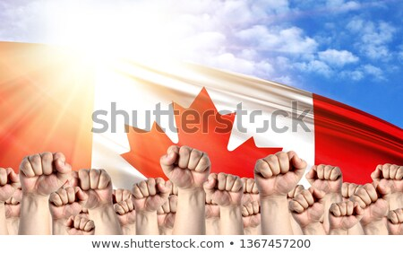 Canada Labour movement, workers union strike Stock photo © stevanovicigor