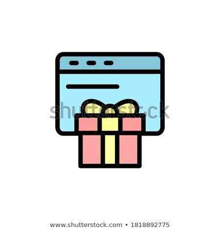 lijn · vakantie · dankzegging · dag · vector - stockfoto © anatolym