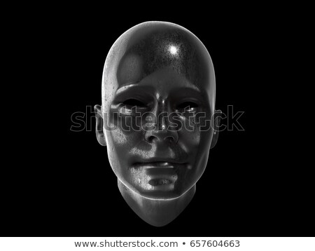 3D Head and brain gears in progress. concept of human thinking Stock photo © Suriyaphoto