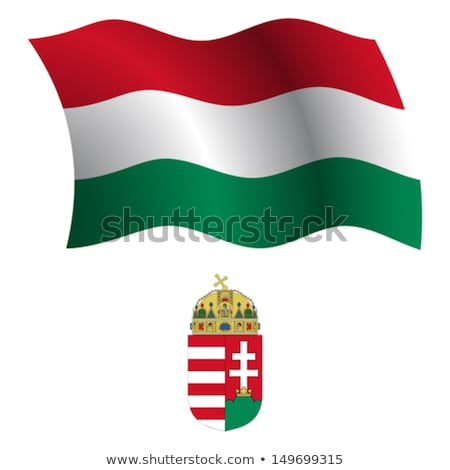 Coat of arms Hungary Stock photo © netkov1