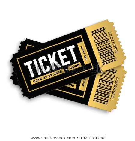 two tickets Stock photo © netkov1