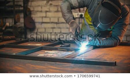 Metal working tools, metalwork Stock photo © jordanrusev
