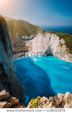 Закинф Греция лет день пляж небе Сток-фото © Fesus