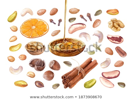 cinnamon sticks on sunflower seeds stock photo © valeriy