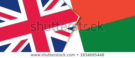 United Kingdom and Madagascar Flags Stock photo © Istanbul2009