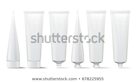 witte · buis · product · omhoog · geïsoleerd - stockfoto © akhilesh