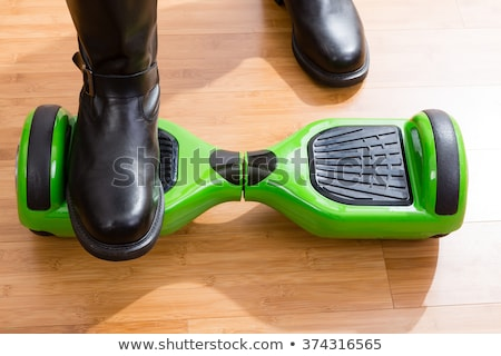 Hoverboard and rider from front top view Stock photo © ozgur
