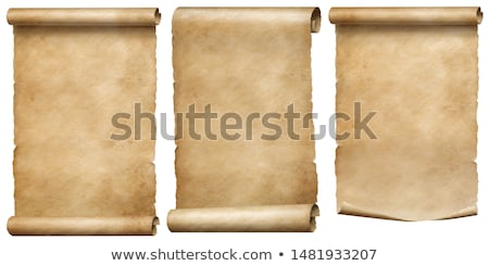Three ancient scrolls Stock photo © AlonPerf