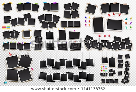 üres azonnali fotó fa asztal háttér űr Stock fotó © fuzzbones0