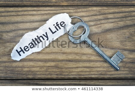 Key with message Healthy Life stock photo © fuzzbones0