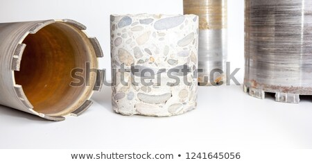 Cut a hole in the metal Stock photo © Panaceadoll