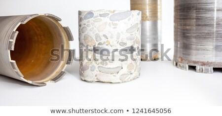 カット 穴 金属 背景 弾丸 亀裂 ストックフォト © Panaceadoll