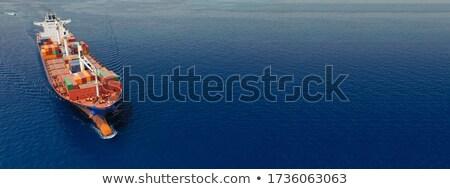 большой · порт · контейнера · суда · порта - Сток-фото © tracer