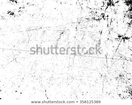 aislado · textura · grunge · material · blanco · negro · sucia · vintage - foto stock © cienpies
