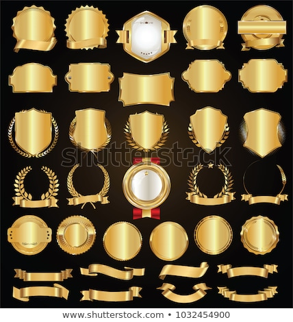 satisfaction guarantee golden badge and label vector design Stock photo © SArts