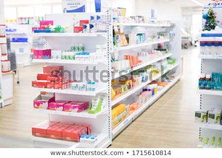 Pharmacie médication industrie pharmaceutique biotechnologie thérapie idée Photo stock © Lightsource