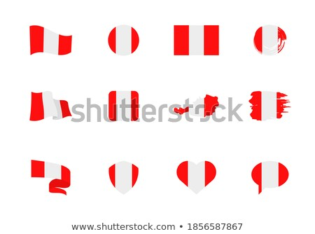 Ausztria · szív · zászló · vektor · kép · textúra - stock fotó © Amplion