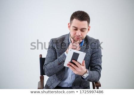 笑みを浮かべて 新郎 アジア 花婿 ストックフォト © RAStudio