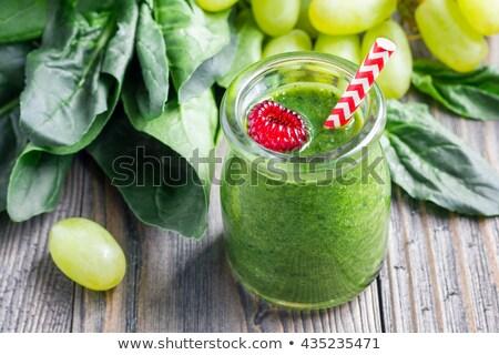 Delicioso uva superfície comida Foto stock © nessokv