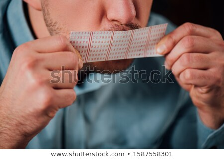 Lottery tickets sign Stock photo © njnightsky