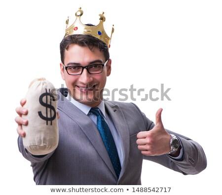 felice · imprenditore · contanti · soldi · ufficio · business - foto d'archivio © elnur