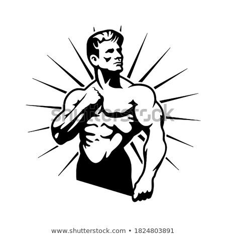 posing bodybuilder stock photo © pressmaster