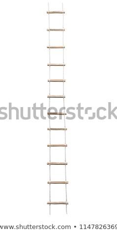 Сток-фото: Rope Ladder To The Sky