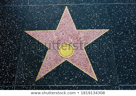 Star with name for honoring actor Stock photo © studioworkstock