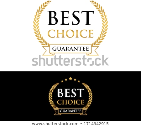 Best choice isolated vector sticker Stock photo © studioworkstock