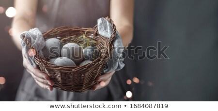 женщину рук гнезда фары темно Сток-фото © artjazz