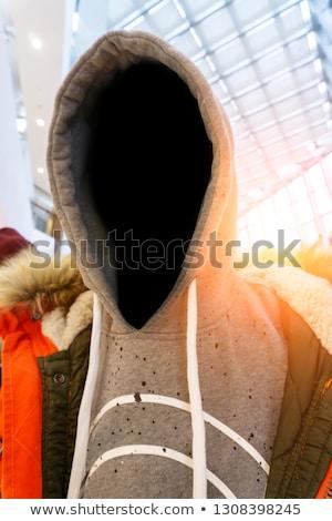 Holigan kentsel düşük anahtar portre Stok fotoğraf © stevanovicigor