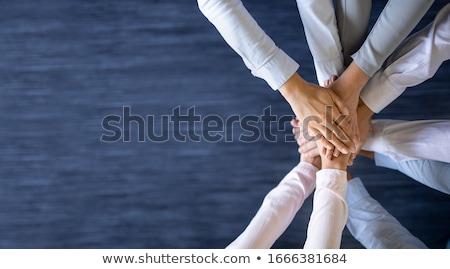 Negócio corporativo equipe gerente supervisor Foto stock © Lightsource
