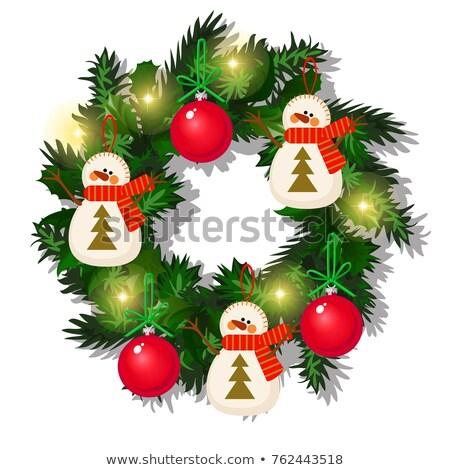 クリスマス · 休日 · 安物の宝石 · 装飾 · 漫画 · カード - ストックフォト © lady-luck