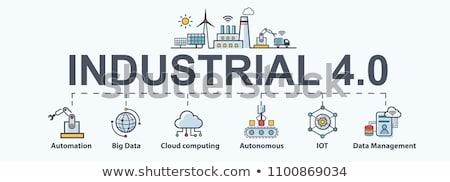 Cyber security management concept banner header. Stock photo © RAStudio