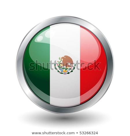 México bandeira quadro ilustração projeto fundo Foto stock © colematt