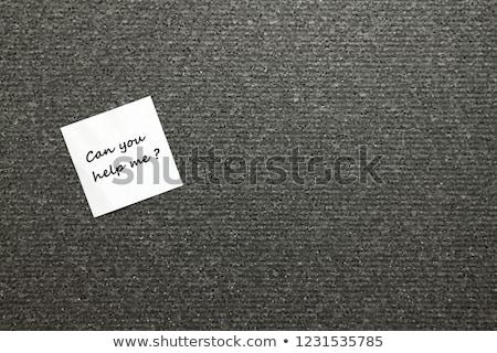 Confundirse empresario negocios cara mano Foto stock © ra2studio