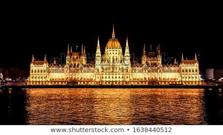 Middeleeuwse illustratie hemel achtergrond kunst Stockfoto © bluering