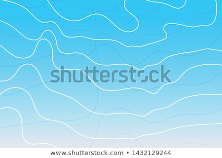 skye blue background with white contour lines Stock photo © SArts