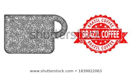 Brezilya ikon kolaj seyahat turizm müzik Stok fotoğraf © netkov1
