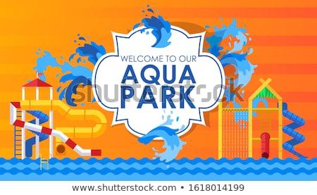 Welkom park lege plaats pretpark geen mensen Stockfoto © robuart