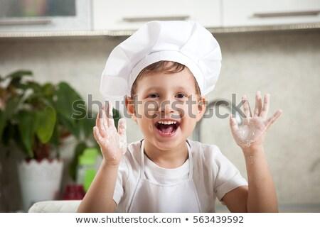мало Бейкер торты кухне Сток-фото © val_th