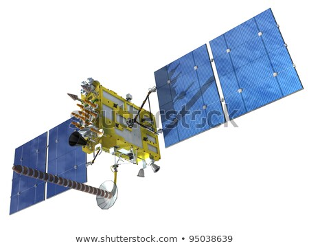 Modern navigation satellite Stock photo © mechanik